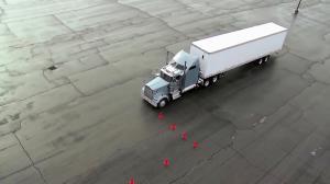 مهارت بی نظیر در پارک کردن ماشین های سنگین