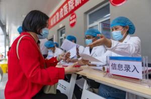تزریق ۳۰۸ میلیون دوز واکسن کرونا در چین