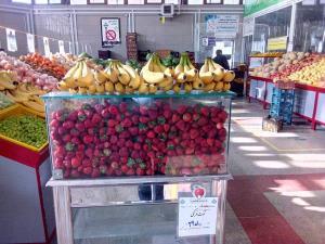 قیمت نوبرانه های بهاره در میادین میوه و تره بار تهران