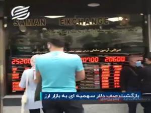 بازگشت صف دلار سهمیهای به بازار ارز