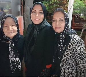 چهره ها/ المیرا شریفی مقدم و مادر و مادربزرگش