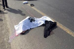 تصادف دوچرخه با خودروی نیسان یک فوتی برجای گذاشت