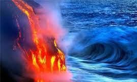 سوختن گاز متان تولید شده در دریاچه!