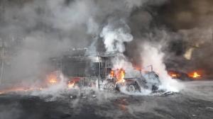 تصاویری از انفجار در یک کارخانه معروف مواد شوینده