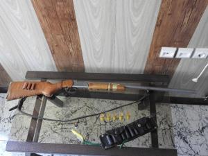 دستگیری یک شکارچی غیر مجاز در منطقه شکار ممنوع ستبله فریدونشهر