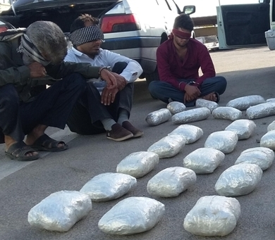 کشف ۱۶۳ کیلو مواد افیونی در اصفهان