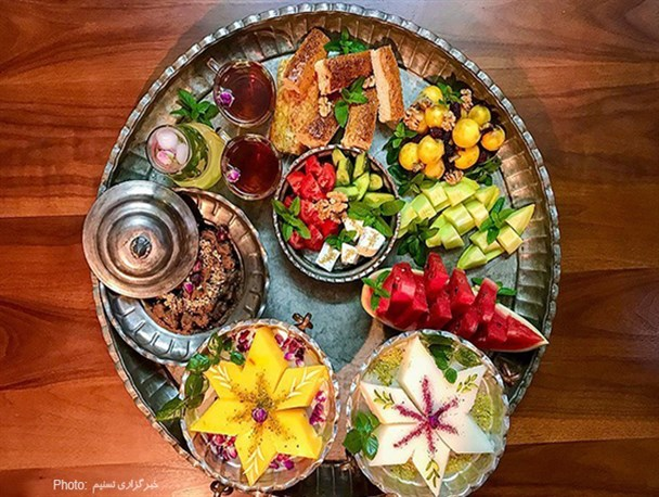 ترحلوا شیرازی، افطاری ماه مبارک رمضان
