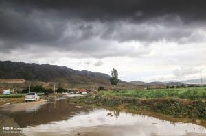 وقتی باران کم کاریهای حاشیه شهر بجنورد را آشکار میکند