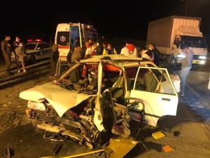 سانحه رانندگی در محور آبادان-اروندکنار با ۵ مصدوم