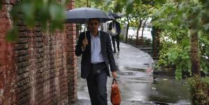 باران و تگرگ در راه قزوین