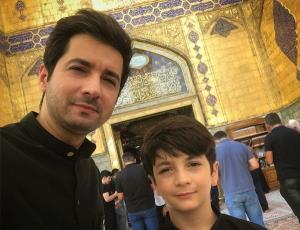شباهت زیاد پسر «نجم الدین شریعتی» به پدرش
