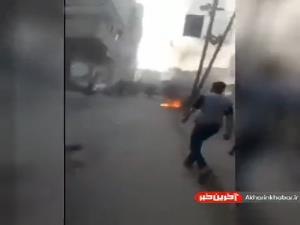 کشتهشدن 9 فلسطینی در حمله هوایی اسرائیل به غزه