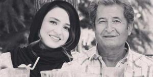 یادگاری گلاره عباسی از پدر و مادرش
