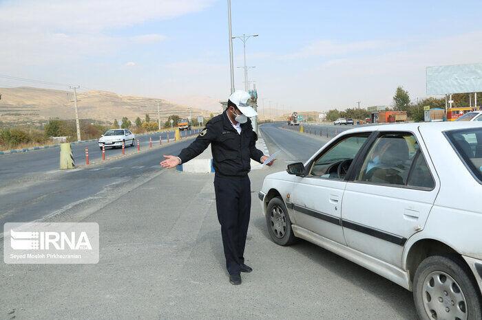 پلیس کرمان: تردد بین شهرها از ۲۱ تا ۲۵ اردیبهشت ممنوع است