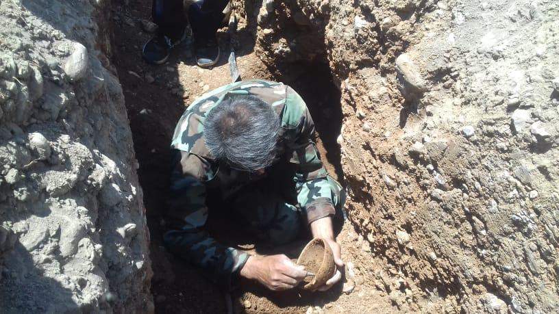 کشف گور تاریخی ۳ هزار ساله در منطقه چیتاب بویراحمد