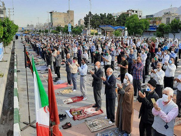 برگزاری نماز عید فطر در سراسر استان یزد