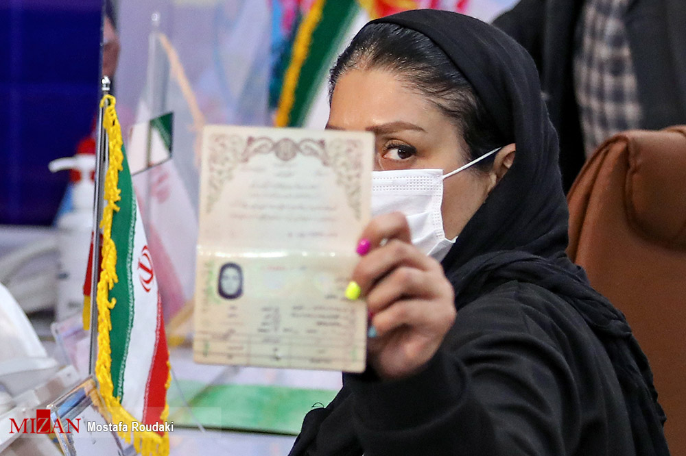 عکس/ دو زن داوطلب ریاست جمهوری در اولین روز ثبت نام