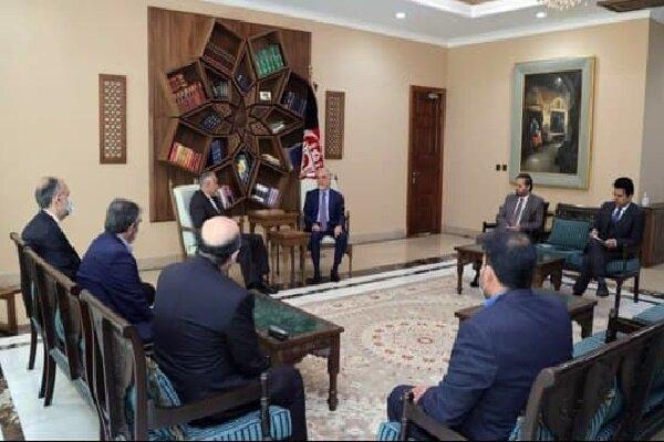 نماینده ویژه ظریف و «عبدالله» در کابل دیدار و گفتگو کردند