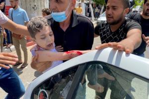 روایت اهالی غزه از بمباران یک برج مسکونی