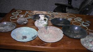 کشف اشیاء عتیقه دوره ساسانیان در مازندران