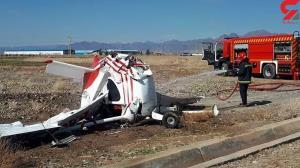 سقوط مرگبار هواپیما در اراک