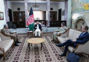 اشرف غنی: تاکید طالبان بر راهحل نظامی غیرقابل پذیرش است