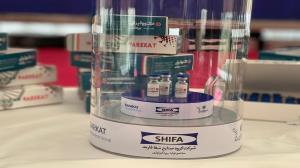 نخستین محصول واکسن کوو ایران برکت رونمایی شد