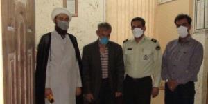 مأموران کلانتری بعثت کرمانشاه دل پدری زحمتکش را شاد کردند