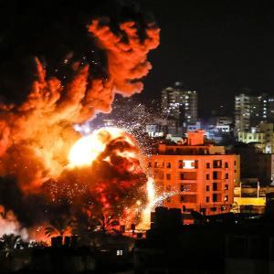 غزه زیر آتش اسرائیل؛ پاسخ مقاومت با موشک باران تل آویو