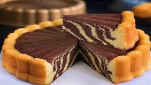 آموزش کیک زبرا برای روزهای ویژه