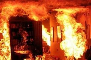 مرگ پدر و پسر لارستانی در میان شعلههای آتش