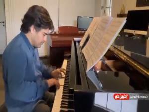 پیانو نوازی سامان احتشامی به یاد مرحوم عبدالوهاب شهیدی