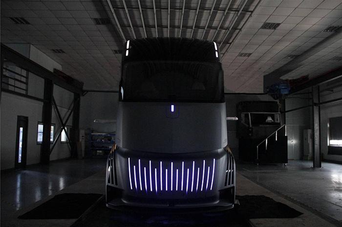کامیون برقی جیلی به نمایش درآمد؛ انرژی پاک در خودروهای سنگین