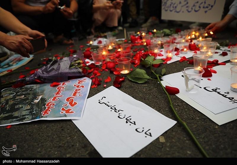عکس/ مراسم یادبود شهدای مدرسه سیدالشهدا کابل