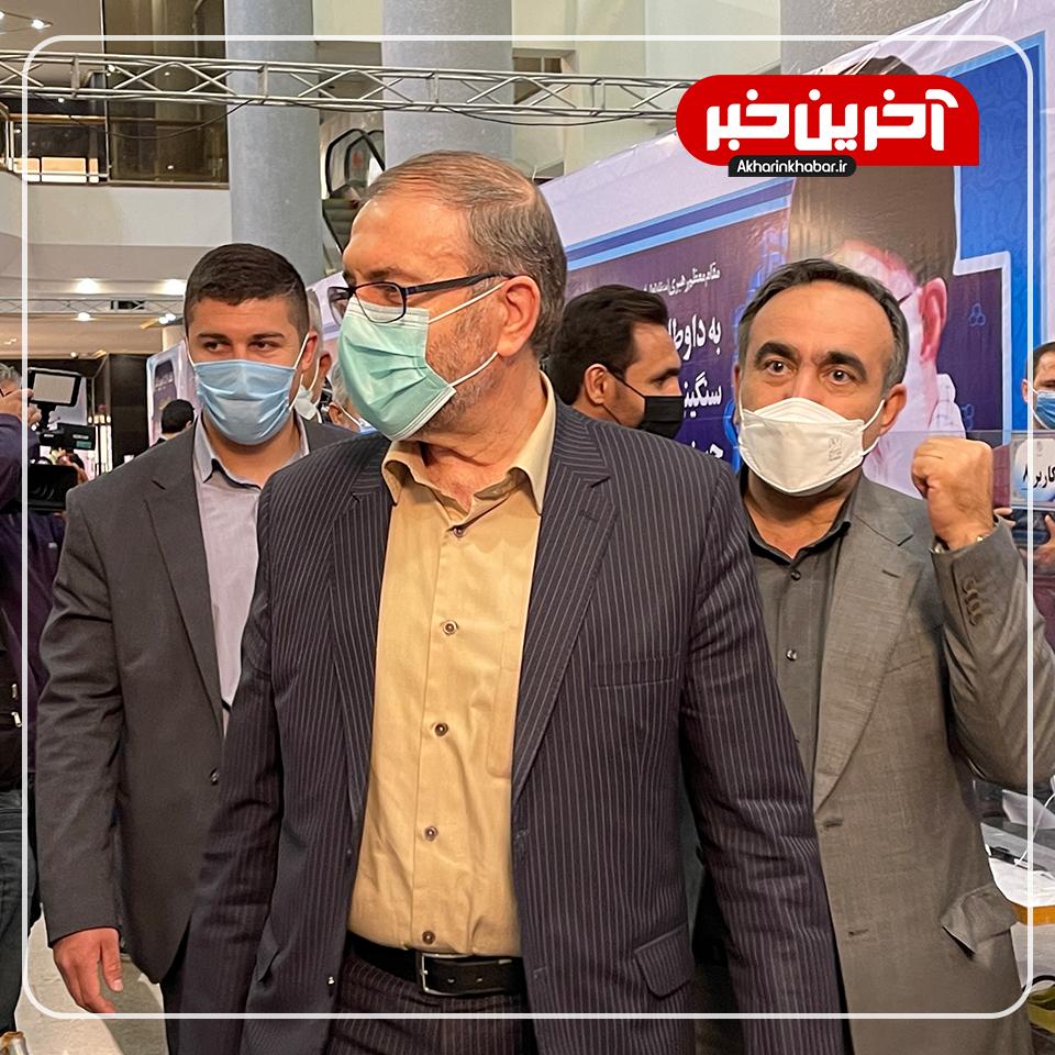 بازدید حسین ذوالفقاری از ستاد انتخابات کشور
