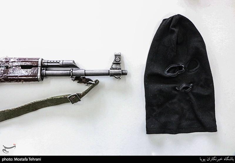 عکس/ باند سارقان طلافروشی های غرب تهران با سلاح های جنگی!