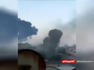 تصاویری از ترس و وحشت در حملات موشکی امروز به غزه