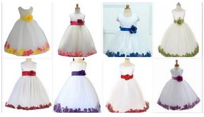 کالکشن لباس دامن پفی بچگانه