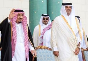 گفتگوی تلفنی پادشاه عربستان و امیر قطر
