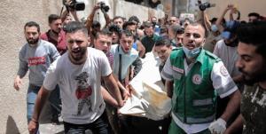 افزایش شهدای غزه به ۴۳ تن، ۱۳ کودک در میان شهدا