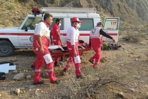 کوهنورد مصدوم در جهرم پس از ۸ ساعت عملیات امداد نجات یافت