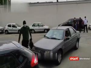 شیخ دیاباته در تمرین استقلال