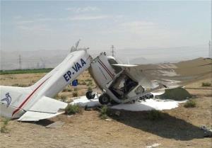 علت سانحه دیروز سقوط هواپیمای آموزشی اعلام شد