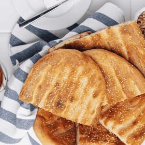 دستور ویژه «نان بربری» ترد و خوش بافت به روش بازاری