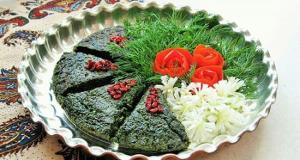 طرز تهیه کوکو سبزی، غذای خوشمزه ایرانی