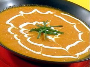 آموزش تهیه سوپ کاری و کدو تنبل
