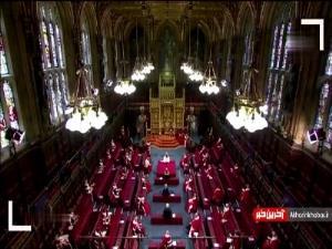 اولین حضور عمومی ملکه انگلیس پس از مرگ همسرش