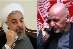 روحانی به «اشرف غنی»: آماده کمک برای برقراری صلح هستیم