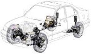 چگونگی تشخیص خرابی جلوبندی خودرو