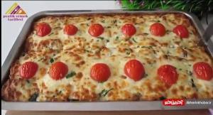 رسپی لذیذ و سریع سیب زمینی پنیری